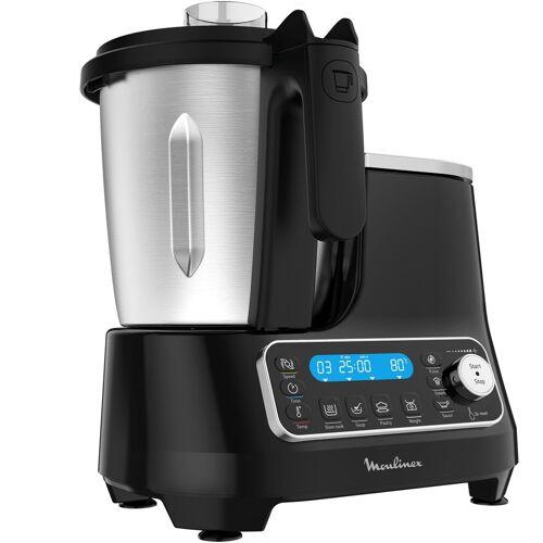 Moulinex Küchenmaschine mit Kochfunktion HF4568 Click Chef, 1400 W, 3,6 l Schüssel
