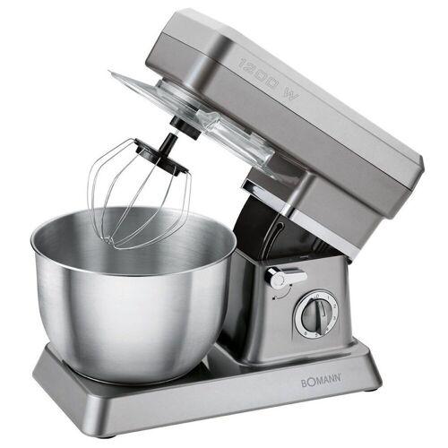 BOMANN Küchenmaschine KM 398 CB Küchenmaschine titan