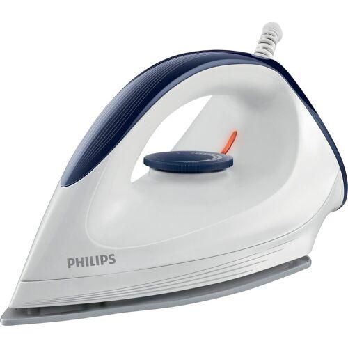 Philips Trockenbügeleisen GC160/02 mit DynaGlide-Bügelsohle, 1200 W, mit gleitfähiger DynaGlide-Bügelsohle