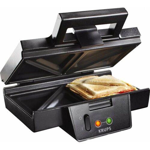 Krups Sandwichmaker FDK 451 - Sandwichmaker - schwarz matt, 850 W