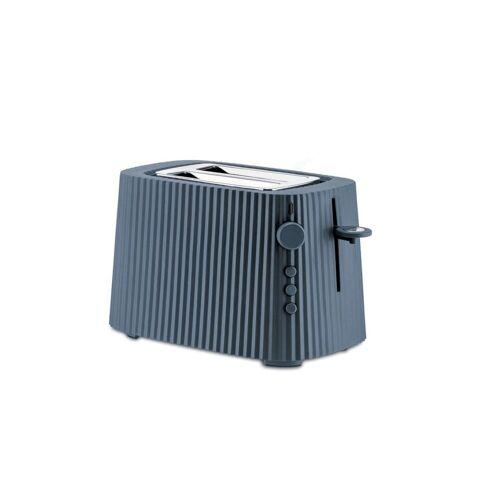 Alessi Toaster Toaster Plissé - Farbwahl, Europäischer Stecker, Elektrische Leistung 850 Watt, Grau