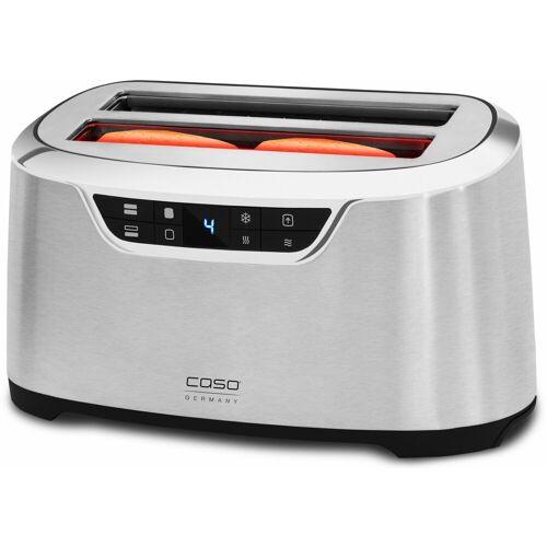 Caso Toaster NOVEA T4, 2 lange Schlitze, für 4 Scheiben, 1600 W