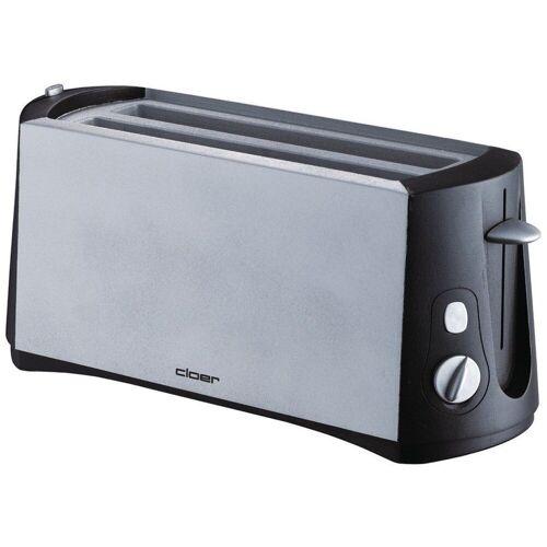 Cloer Toaster 3710 sw/metall matt Toaster