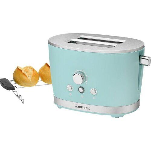 BOMANN Toaster Clatronic ROCK N RETRO TA 3690 blau Toaster