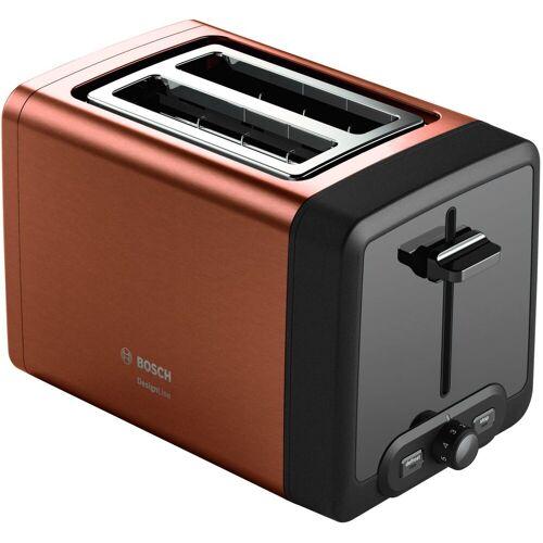 Bosch Toaster Kompakt-Toaster DesignLine TAT4P429DE