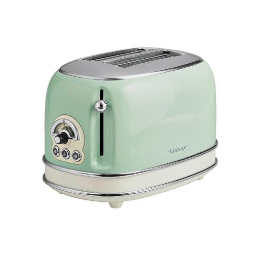 Ariete Toaster Toaster 2-Schlitz Vintage grün
