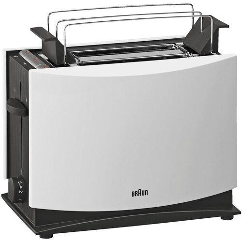 Braun Toaster Doppelschlitztoaster HT 450 schwarz/weiß