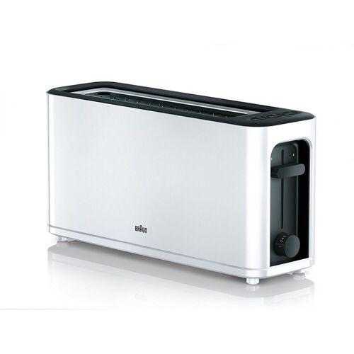 Braun Toaster HT 3110WH Langschlitztoaster weiß