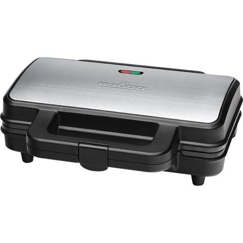 BOMANN Waffeleisen PC-ST 1092 Sandwich-Toaster Edelstahl / schwarz