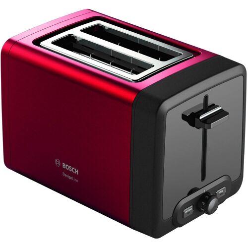 Bosch Toaster Kompakt-Toaster DesignLine TAT4P424DE