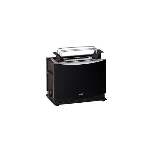 Braun Toaster HT 450 Doppelschlitztoaster schwarz