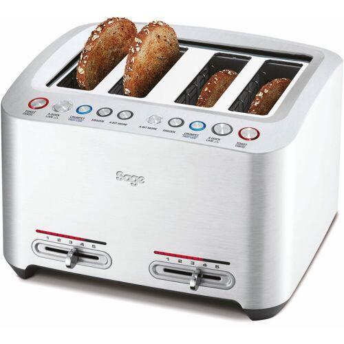 Sage Toaster the Smart Toast, STA845BAL, 4 lange Schlitze, 2000 W