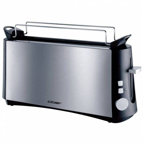 Cloer Toaster Toaster 3810 Langschlitztoaster silber
