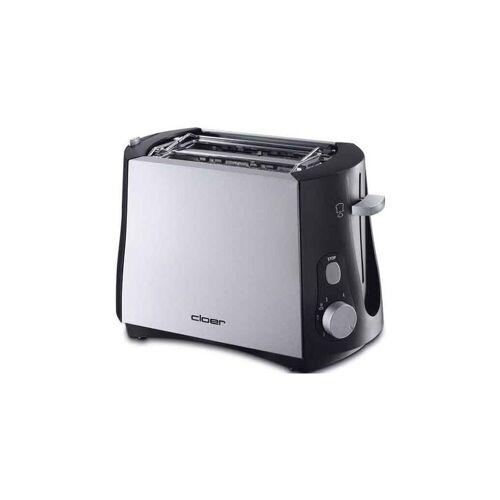 Cloer Toaster 3410 sw/metall matt Toaster