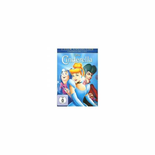 Disney DVD Cinderella 1-3