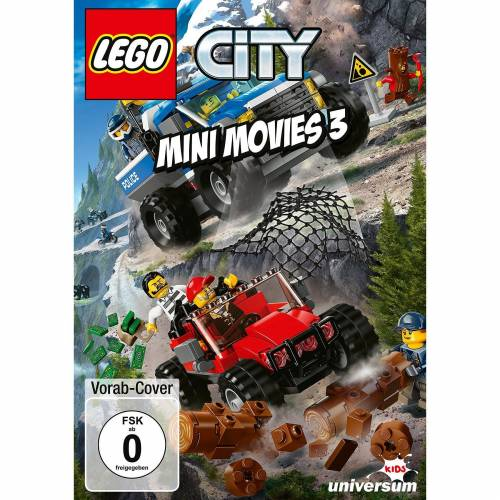 Lego DVD City Mini Movies 3