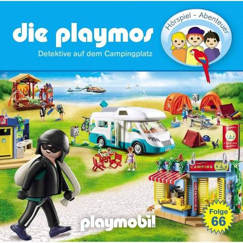 Edel Hörspiel »CD Die Playmos 6 - Detektive auf dem Campingplatz«