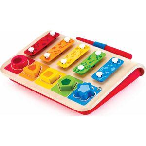 Hape Spielzeug-Musikinstrument »Xylophon-Piano«, inklusive Steckspiel