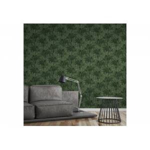 A.S. Création Vliestapete »Greenery mit Palmenprint in Dschungel Optik«, floral, grün