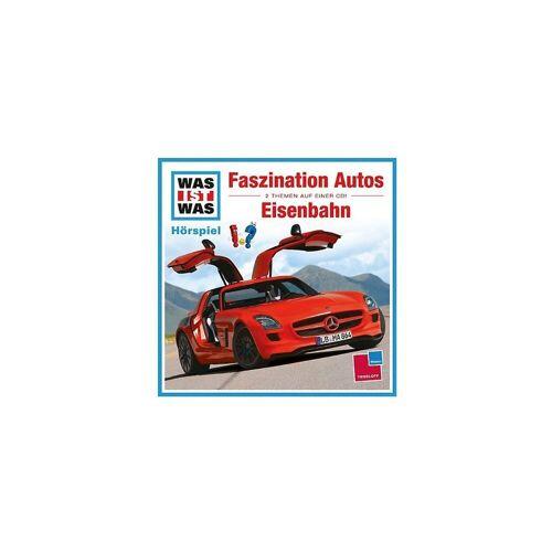 Universal Hörspiel »CD Was ist Was - Faszination Autos/Eisenbahn«