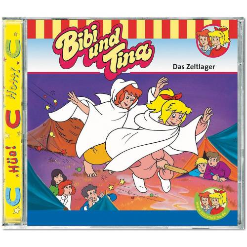 Kiddinx Hörspiel »CD Bibi & Tina 10: Das Zeltlager«