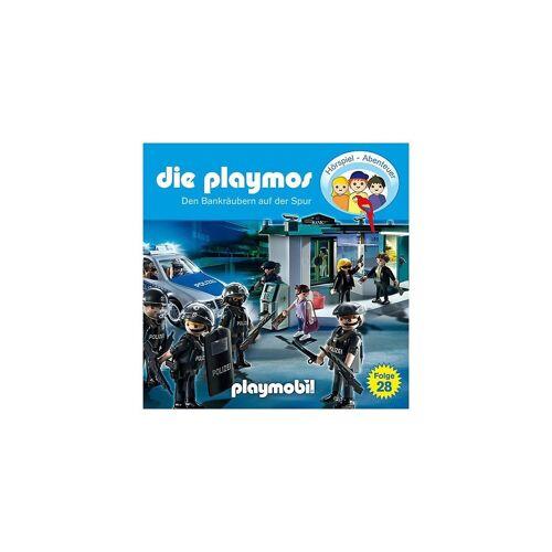 Edel Hörspiel »CD Die Playmos 28 - Den Bankräubern auf der Spur«