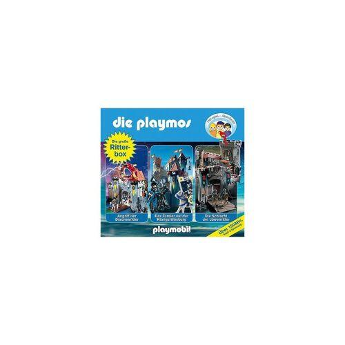 Edel Hörspiel »CD Die Playmos - Hörspiel-Box Ritter«