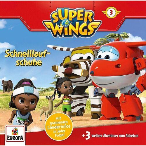 Super Wings Hörspiel »CD 3 - Schnelllaufschuhe«