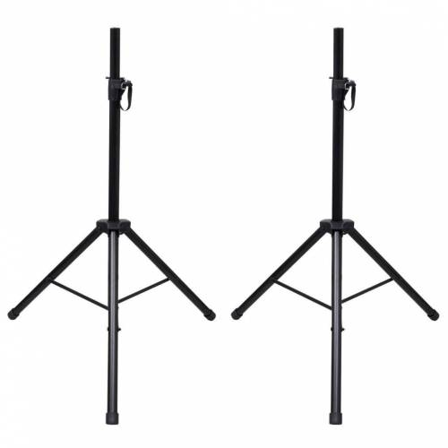 vidaXL »Einstellbare Lautsprecherständer 2 Stk.« Lautsprecherständer