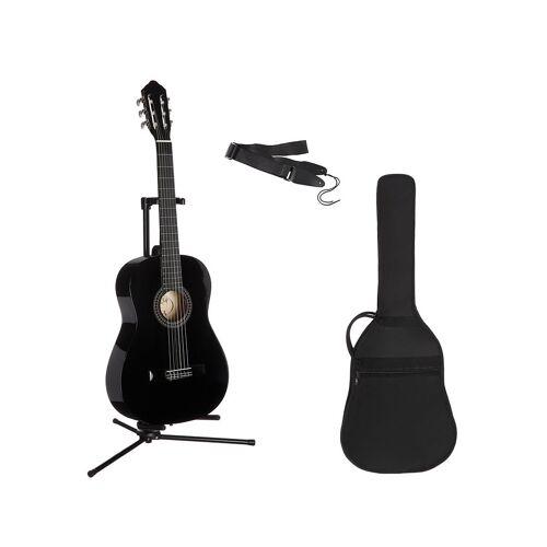 Konzertgitarre »Konzertgitarren-Set« 7/8, schwarz
