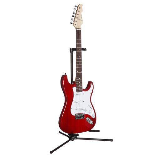 E-Gitarre »E-Gitarre ST 5«, rot-transparent