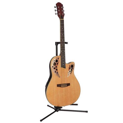 Akustikgitarre »Roundbackgitarre 4/4 mit Equalizer« 4/4, natur