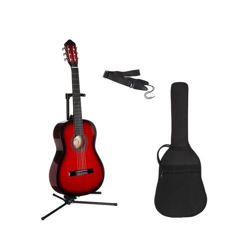 Konzertgitarre »Konzertgitarren-Set« 7/8, rot