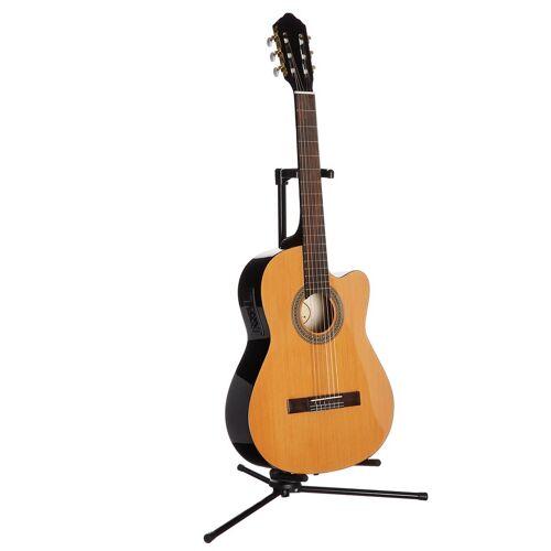 Konzertgitarre »Jose Ribera® Konzertgitarre 4/4 mit Equalizer« 4/4, natur