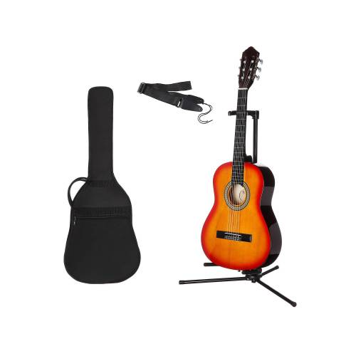 Gitarrenset »Konzertgitarre« 1/4, inkl. Gitarrentasche und Gitarrengurt, sunburst
