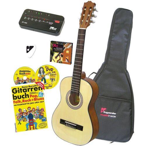 Voggenreiter Akustikgitarre »VOLT Akustikgitarren-Set« 4/4