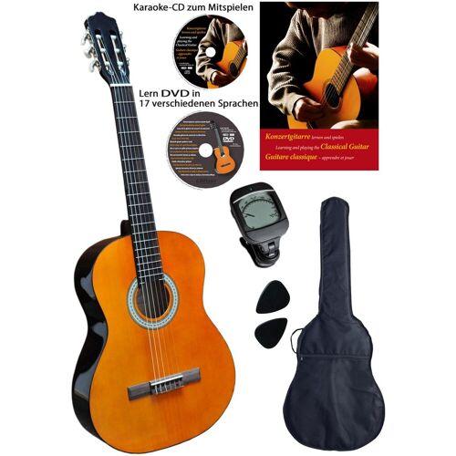 Clifton Konzertgitarre »- Konzertgitarre 4/4« 4/4, Komplettset