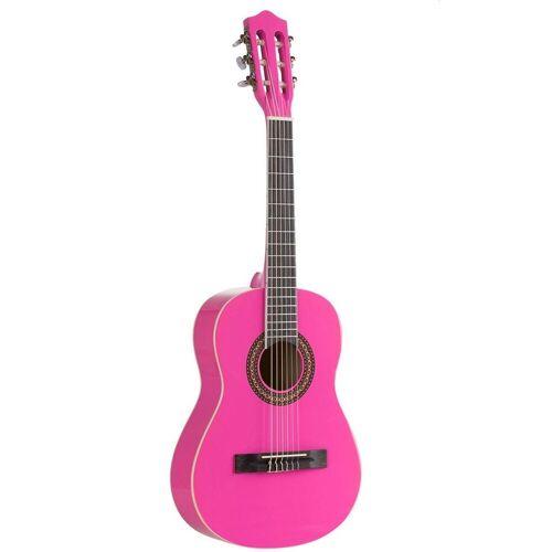 Voggenreiter Kindergitarre »Kindergitarre 1/2, pink« 1/8