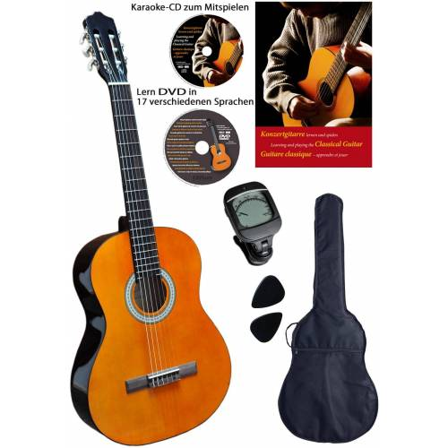 Clifton Konzertgitarre »-Konzertgitarre« 3/4, Komplettset