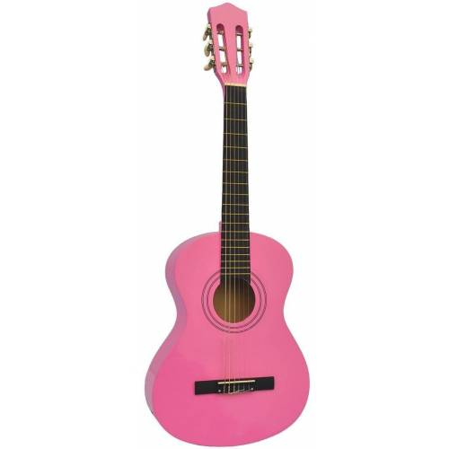 Voggenreiter Kindergitarre »Kindergitarre 1/8, pink« 1/8