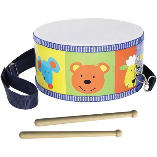 Clifton Spielzeug-Musikinstrument »Kindertrommel mit Motiv«, mit Kinderlieder CD