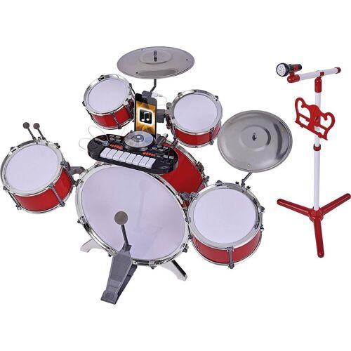 SIMBA Spielzeug-Musikinstrument »Plug & Play Drumset Schlagzeug«