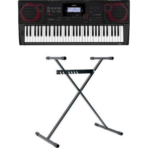 Casio Keyboard »CT-X3000«, (Set), inklusive Keyboardstativ