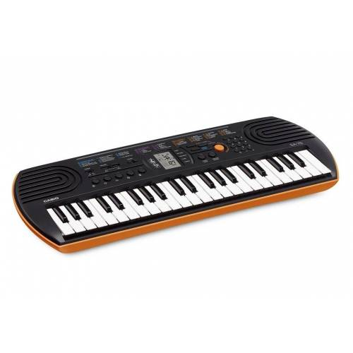 Casio Keyboard »Mini-Keyboard SA-76«, mit 44 Minitasten