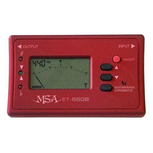 Stimmgerät »Stimmgerät«, (Set, 1-tlg), einfache Bedienung, rot