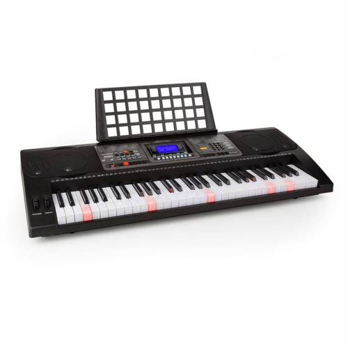 Schubert Keyboard »Etude 450 USB Lern-Keyboard 61 Tasten USB-MIDI-Player Leuchttasten«