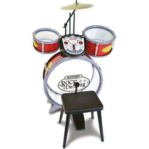 Bontempi Spielzeug-Musikinstrument »Schlagzeug mit Hocker«