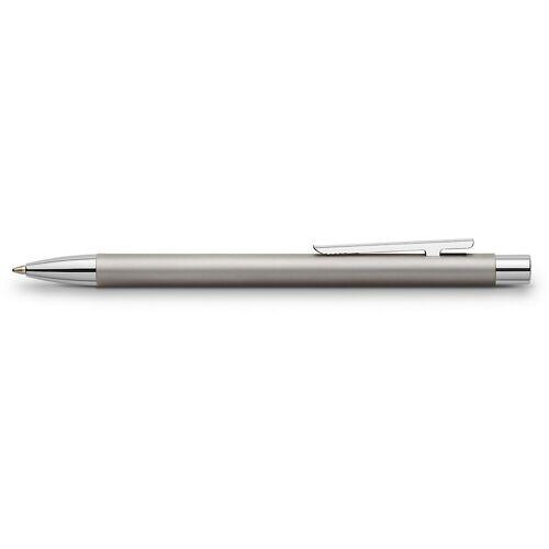 Faber-Castell Kugelschreiber »Edelstahl-Kugelschreiber NEO Slim, matt, M, inkl.«