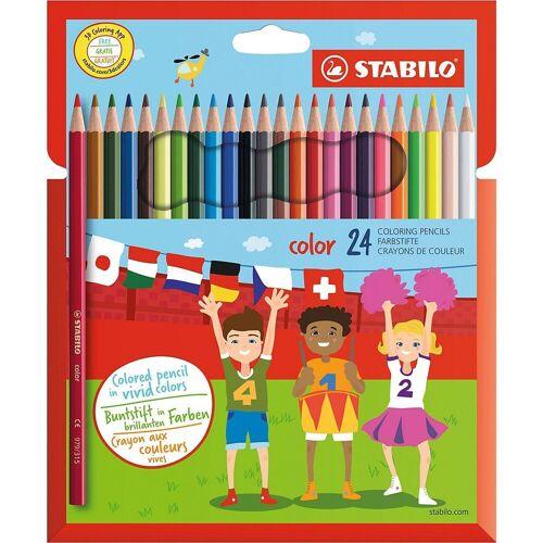 STABILO Buntstift »Buntstifte color, 24 Farben«