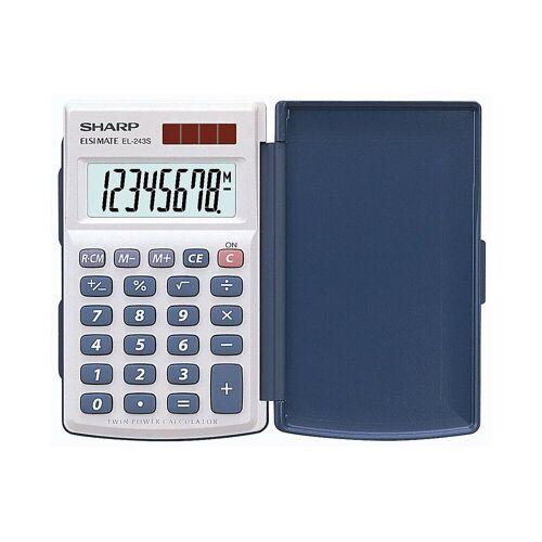 SCHNEIDER NOVUS Taschenrechner »Sharp EL-243S Taschenrechner, 8-stellig,«